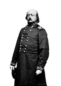 Gen. Benjamin F. Butler, cashiered by Grant after Lincoln's re-election